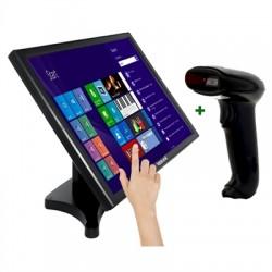 """iggual - IGG316245 monitor pantalla táctil 48,3 cm (19"""") 1280 x 1024 Pixeles Negro"""