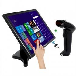 """iggual - IGG316238 monitor pantalla táctil 48,3 cm (19"""") 1280 x 1024 Pixeles Negro"""