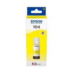 Epson - 104 EcoTank Yellow ink bottle
