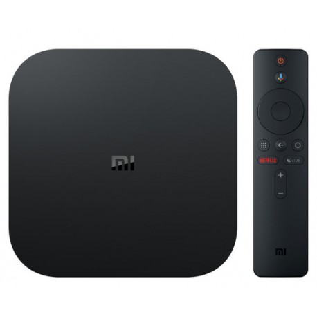Xiaomi - Mi Box S 8 GB Wifi Negro 4K Ultra HD