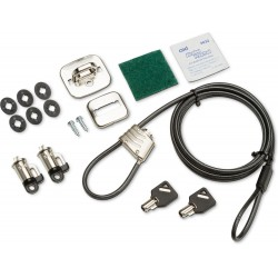 HP - 3XJ17AA cable antirrobo Negro
