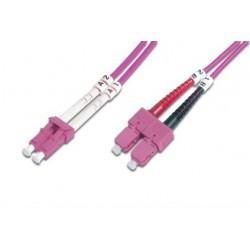 ASSMANN Electronic - DK-2532-02-4 cable de fibra optica 2 m LC SC Rosa