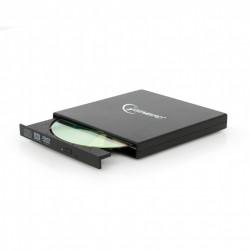 Gembird - DVD-USB-02 unidad de disco óptico Negro DVD±RW