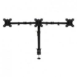 """Ewent - EW1513 soporte de mesa para pantalla plana 68,6 cm (27"""") Abrazadera/Atornillado Negro"""