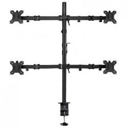 """Ewent - EW1514 soporte para monitor 81,3 cm (32"""") Abrazadera/Atornillado Negro"""