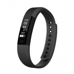 "Denver - BFH-15 Wristband activity tracker Negro IP65 OLED 2,21 cm (0.87"") Inalámbrico"