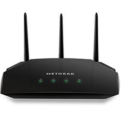 Netgear - AC2000 router inalámbrico Doble banda (2,4 GHz / 5 GHz) Gigabit Ethernet Negro