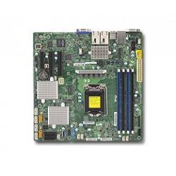 Supermicro - X11SSH-CTF placa base para servidor y estación de trabajo LGA 1151 (Zócalo H4) Intel® C236 microATX