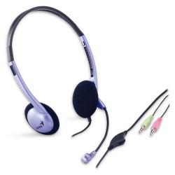 Genius - HS-02B Stereo Headset Binaural