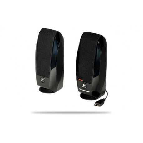 Logitech - S150 Stereo portable speaker 1.2W Negro