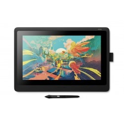 Wacom - Cintiq 16 tableta digitalizadora 5080 líneas por pulgada 344,16 x 193,59 mm Negro