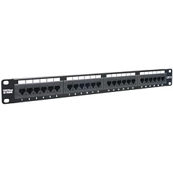 Trendnet - 24-port Cat6 Unshielded Patch Panel panel de parcheo