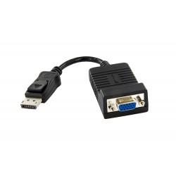 StarTech.com - Adaptador Conversor de Vídeo Activo DisplayPort DP a VGA - 1920x1200 - Convertidor