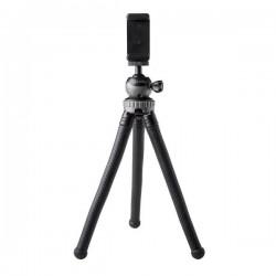 Celly - Click Flextri tripode Smartphone/Action camera 3 pata(s) Negro