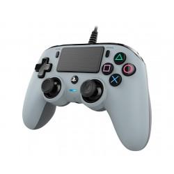 NACON - PS4OFCPADGREY mando y volante Gamepad PlayStation 4 Gris