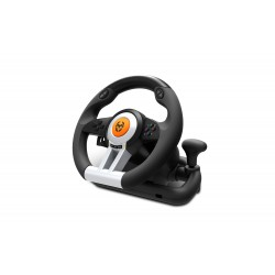 Krom - K-Wheel Volante + Pedales PlayStation 4,Playstation,Playstation 3,Xbox One Negro