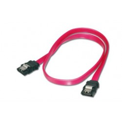 ASSMANN Electronic - 2x SATA 7-pin, 0.3 m cable de SATA 0,3 m Negro, Rojo