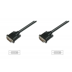 ASSMANN Electronic - DVI-D 2m cable DVI Negro