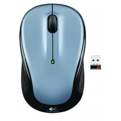 Logitech - M325 RF inalámbrico Óptico 1000DPI Ambidextro Negro, Plata ratón