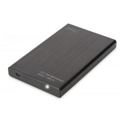 "Digitus - DA-71104 caja para disco duro externo 2.5/3.5"" Carcasa de disco duro/SSD Negro"
