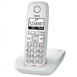 Gigaset - E260 Teléfono DECT Blanco Identificador de llamadas