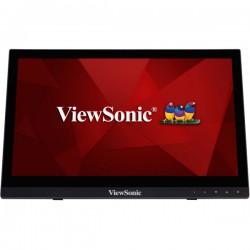 "Viewsonic - TD1630-3 monitor pantalla táctil 40,6 cm (16"") 1366 x 768 Pixeles Negro Mesa"