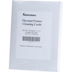 Intermec - 1-110101-00 limpiador de impresora Printer cleaning sheet