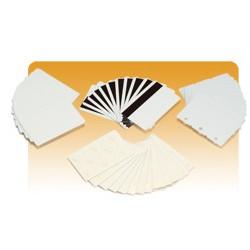 Zebra - PVC, 30mil, Recycled PVC Cards tarjeta de visita 500 pieza(s)