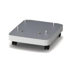 OKI - 45478702 mueble y soporte para impresoras Plata, Blanco
