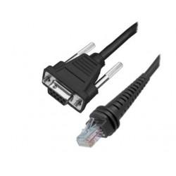 Honeywell - CBL-020-300-S00 cable de serie Negro 3 m RS232 DB9