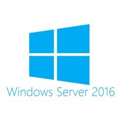 Hewlett Packard Enterprise - Microsoft Windows Server 2016 Datacenter Edition ROK 16 Core - Spanisch
