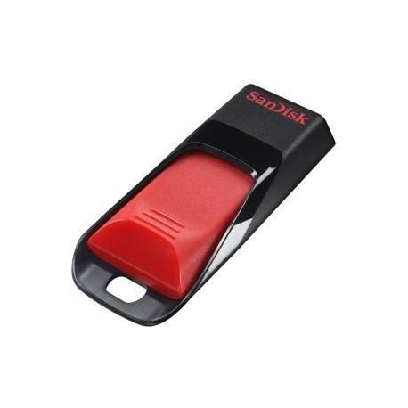 Sandisk - Cruzer Edge 64GB USB 2.0 Type-A Negro, Rojo unidad flash USB
