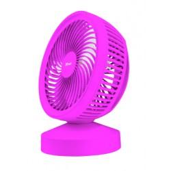 Trust - 22582 ventilador Ventilador con aspas para el hogar Rosa
