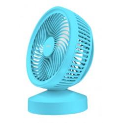 Trust - 22580 ventilador Ventilador con aspas para el hogar Azul