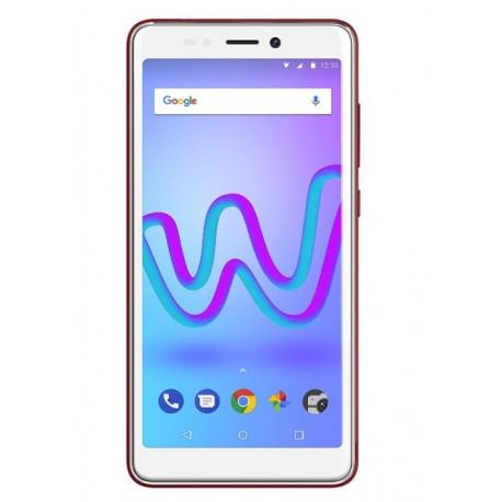 Wiko - JERRY 3 138 cm 545 1 GB 16 GB SIM doble Cereza Rojo Blanco 2500 mAh
