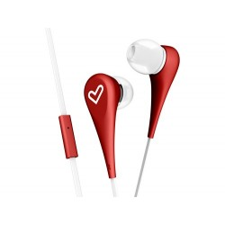 Energy Sistem - Style 1+ auriculares para móvil Binaural Dentro de oído Rojo Alámbrico