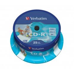 Verbatim - 43439 CD en blanco CD-R 700 MB 25 pieza(s)