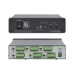 Kramer Electronics - VM-50AN amplificador de audio 5.0 canales Alámbrico Negro