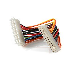 StarTech.com - Cable 20cm ATX 2.01 extensor de alimentacion ATX 2.01 24pin
