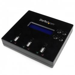 StarTech.com - Dock Base Clonador Duplicador Autónomo Copiador Borrador Memorias PendriveFlash USB - 1 a 2