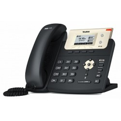 Yealink - SIP-T21 E2 teléfono IP Negro, Oro Terminal con conexión por cable LCD