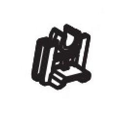 KYOCERA - 302F924190 pieza de repuesto de equipo de impresión Buje de rodillo Impresora láser/LED