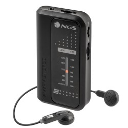 NGS - Code Knock radio Personal Analógica Negro