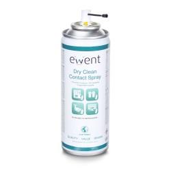 Ewent - EW5614 kit de limpieza para computadora Espray para limpieza de equipos Pantallas / Plásticos, Universal 200 ml