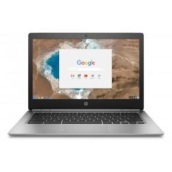 """HP - Chromebook 13 G1 Plata 33,8 cm (13.3"""") 3200 x 1800 Pixeles Intel® Core™ M 8 GB LPDDR3-SDRAM 32 GB Flash Wi-Fi 5 (802.11ac)"""