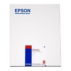 Epson - Ultra Smooth Fine Art Paper, DIN A2, 325 g/m², 25 hojas