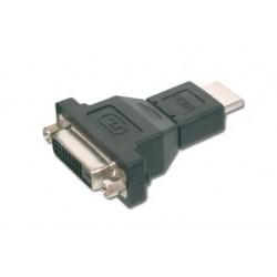 ASSMANN Electronic - AK-330505-000-S adaptador de cable HDMI A DVI-I (24+5) Negro