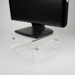 Newstar - Soporte para monitor LCD/CRT [acrílico] - NSMONITOR40