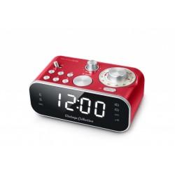 Muse - M-18CRD radio Reloj Analógica Rojo