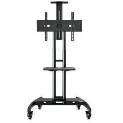 "Peerless - TRVT561 soporte de pie para pantalla plana Portable flat panel floor stand Negro 152,4 cm (60"")"